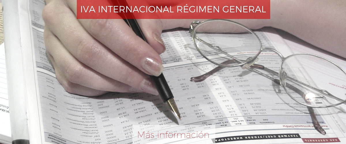 IVA internacional | Régimen general
